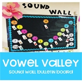 Vowel Valley Sound Wall Bulletin Board