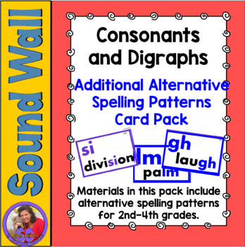 Sound Wall - Consonants Add On Pack