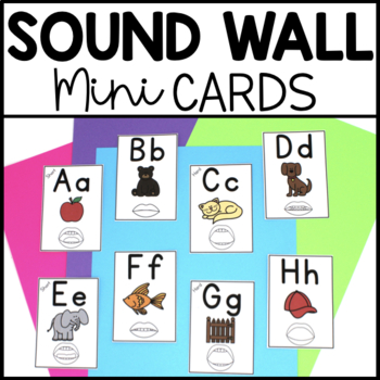 Sound Wall Mini Phoneme Cards