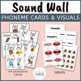 Sound Wall Phoneme Cards & Visuals