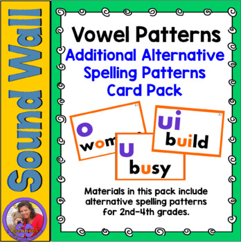Sound Wall - Vowels Add On Pack
