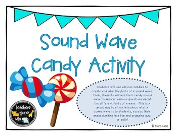 Sound Wave Candy Activity