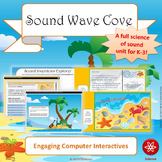 Sound Wave Cove STEM/STEAM Unit Lesson Plans (NGSS 1-PS4-1/1-PS4-4)
