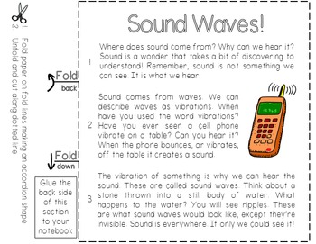Sound Waves Science Close Read Text-Dependent Activity & Station Packet