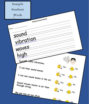Sound Waves!!  1st Grade Next Gen Physical Science