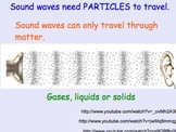 Sound Waves - Lesson Presentations, Lab Experiment, Computer Activity, Videos