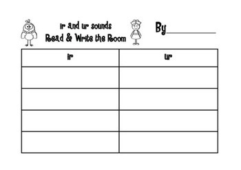 Sound Waves Phonics Spelling - Set 3 - Read and Write the Room