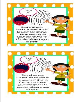 Sound Waves Poster/Printable  *FREEBIE*