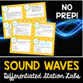 Sound Waves Student-Led Station Lab