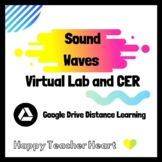 Sound Waves Virtual Lab and CER HS-PS4-1