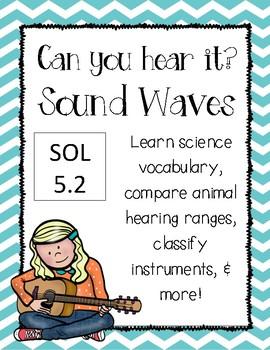 Sound Waves {Vocabulary, Sort, Reading Passage}