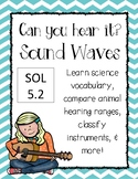 Sound Waves {Vocabulary, Reading Passage and Sorts}