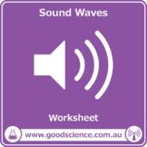 Sound Waves [Worksheet & Online Lesson]