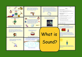 Sound:  What is it?  Smart Notebook file (13 pages)