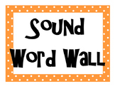 Sound Word Wall