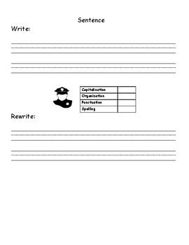 Sound, Word, and Sentence Dictation OG