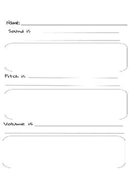 Sound Worksheets
