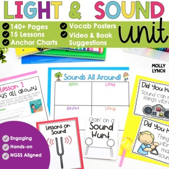 Sound and Light Investigations for Science {Aligned with NGSS}