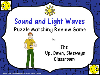 Sound and Light Puzzle Matching Review Game