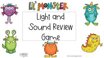 Sound and Light Review Game