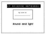 Sound and Light Science Notebook