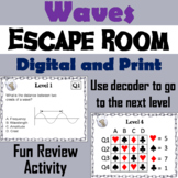 Sound and Light Waves Activity: Escape Room Science