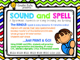 Sound + Spell: A Systematic Approach to Early Decoding and Spelling