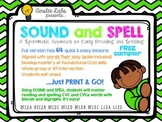 FREE! Sound and Spell: A Systematic Approach to Early Decoding and Spelling