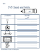 Sound and Write Word Families -am, -at, -ut