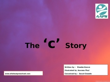 "Preschool Sound book of ""c""   a story on phonetic."