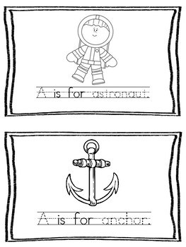Sound booklet-Letter Aa