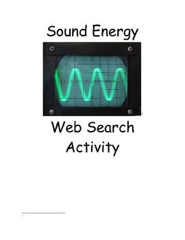 Sound-internet activity-Observing sound waves and speed of