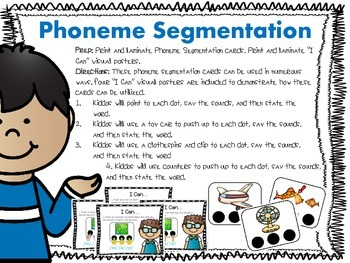Sound it Out! {Phoneme Segmentation & Reading Activities}