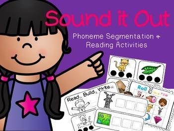 Sound it Out! {Phoneme Segmentation & Reading Activities}