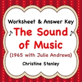 Sound of Music ♫  Movie Worksheet ♫     (+ Answer Key)