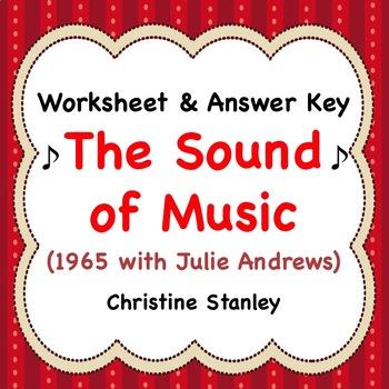 Sound of Music ♫  Movie Worksheet ♫     (+ Answer Key)