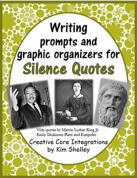 Sound of Silence Figurative Language Writing