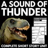 Sound of Thunder by Ray Bradbury Short Story Unit with Poster Project