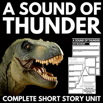 Sound Of Thunder By Ray Bradbury Short Story Unit With border=