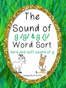 Sound of g Word Sort