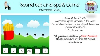 Sound out and spell Mega sound pack