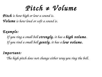 Sound: produced, vibrations, pitch PowerPoint 4th grade Science