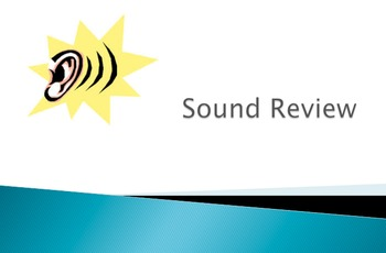 Sound review powerpoint