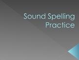 Sound-spelling Practice Slideshow