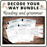 Decode your way to great reading, writing and grammar! Gro