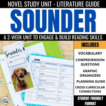 Sounder Foldable Novel Study Unit