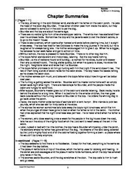 Sounder Novel Teaching Guide