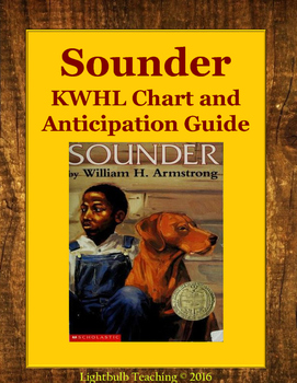 Sounder Anticipation Guide and KWHL Chart