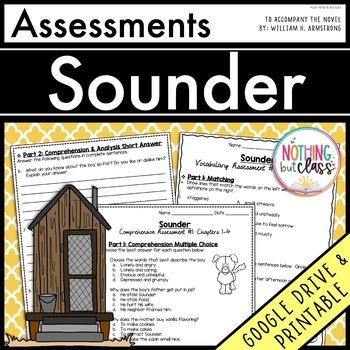 Sounder: Tests, Quizzes, Assessments