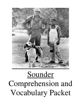 Sounder Guided Reading Unit Level T